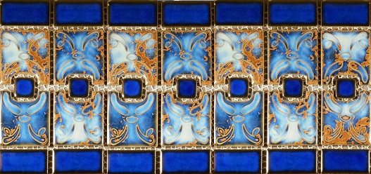 cobalt blue 6x6 tile classic pool tile swimming pool tile coping decking mosaics