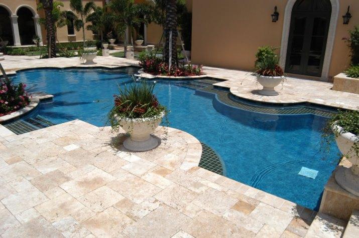 classic pool tile - swimming pool tile, coping, decking, mosaics
